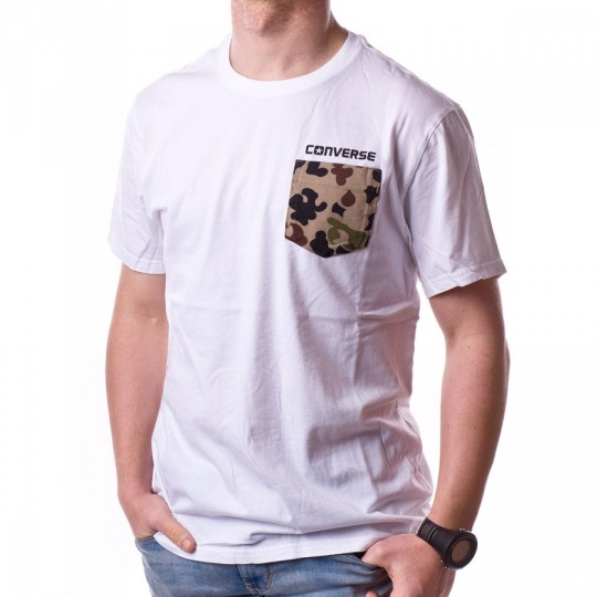 Camiseta  Converse AMT Converse Weatherized White