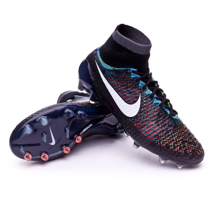 72948ac1c4 Chuteira Nike Magista Obra ACC Black History Month FG Black-Blue-Green  strike - Loja de futebol Fútbol Emotion