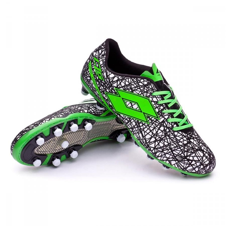 e025c51d6764e0 Football Boots Lotto Zhero Gravity VII 200 FG White-Mint fluor ...
