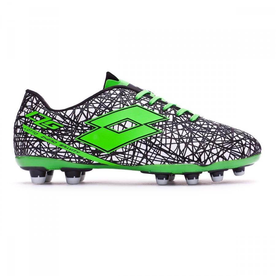 43ec45b895f Chaussure de foot Lotto Zhero Gravity VII 200 FG White-Mint fluor -  Boutique de football Fútbol Emotion