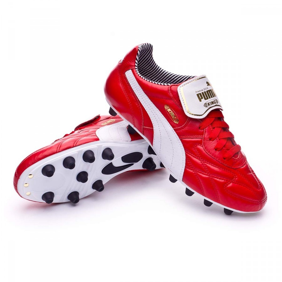 Boutique Top Chaussure Red Puma King High De Stripe Foot Fg Risk dCBxoe