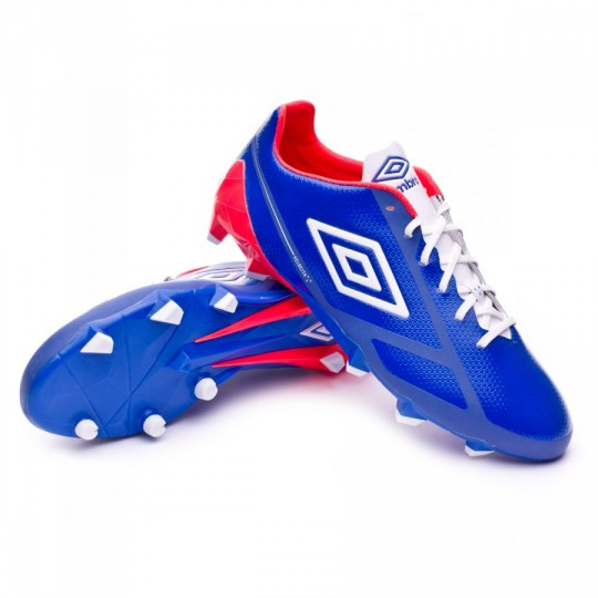Chaussure  Umbro Velocita Pro FG Dazzing blue-White-Fiery coral