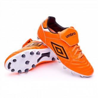 Chuteira  Umbro Speciali Eternal Pro HG Shocking orange-Black-White