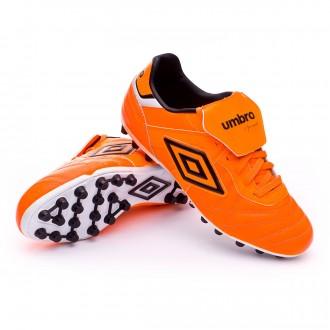 Chuteira  Umbro Speciali Eternal Premier AG Shocking orange-Black-White