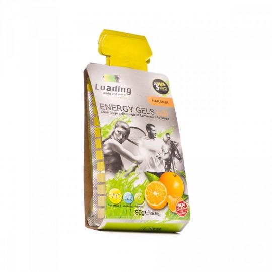 Gel  Loading Energético Naranja Vitamina C (3x30g)