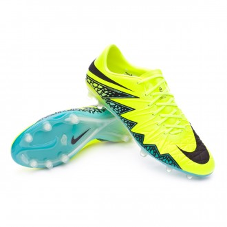 HyperVenom Phinish II ACC FG Volt-Hyper turquoise-Clear jade