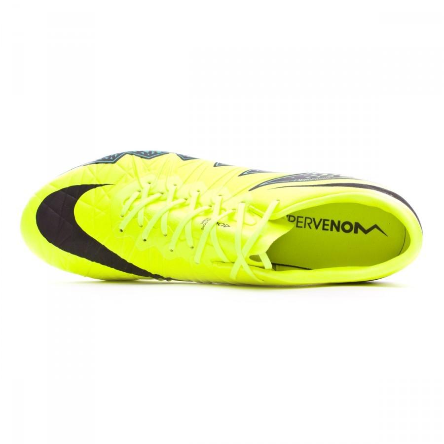 383fe400c56a Football Boots Nike HyperVenom Phinish II ACC FG Volt-Hyper turquoise-Clear  jade - Football store Fútbol Emotion