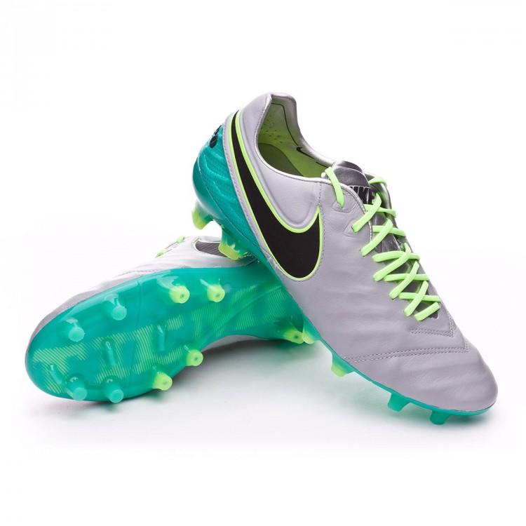 eac21881e Scarpe Nike Tiempo Legend VI ACC FG Wolf grey-Black-Clear jade ...