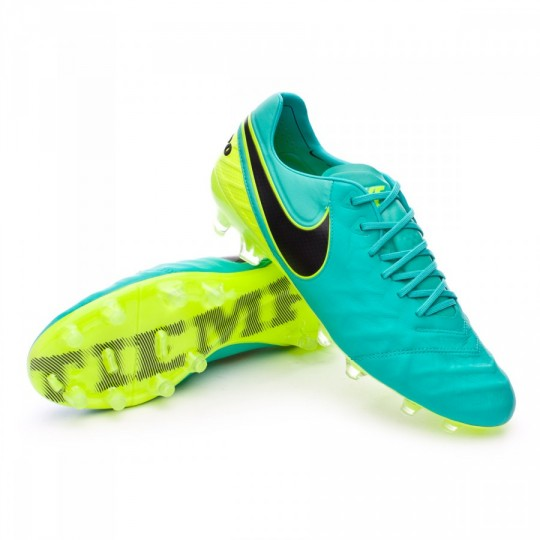Chuteira  Nike Tiempo Legend VI ACC FG Clear jade-Black-Volt