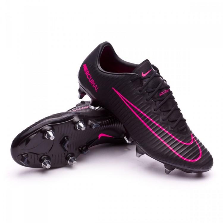 a87327161406 Football Boots Nike Mercurial Vapor XI ACC SG-Pro Black-Pink blast ...