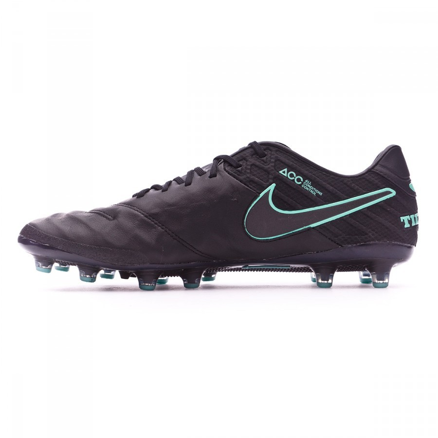 wholesale dealer 087b9 eae84 Football Boots Nike Tiempo Legend VI ACC AG-R Black-Hyper turquoise - Football  store Fútbol Emotion