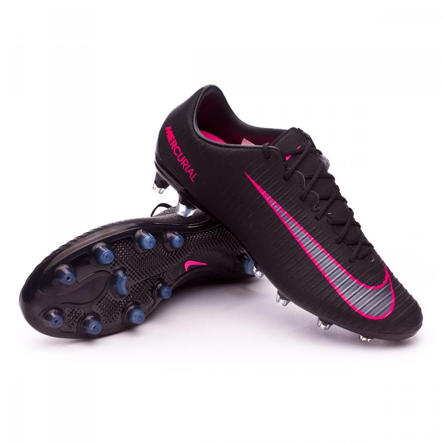 Boot Nike Mercurial Veloce III AG-R Black-Pink blast - Football ... ae31ef26e55c