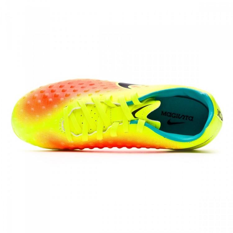 best loved daaed 2c8c3 bota-nike-jr-magista-opus-ii-acc-ag- · Nike. Bota Magista Opus II AG-R Niño  Volt-Black-Total orange-Clear ...