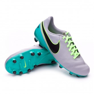 Bota  Nike jr Tiempo Legend VI ACC FG Wolf grey-Black-Clear jade-Metallic silver