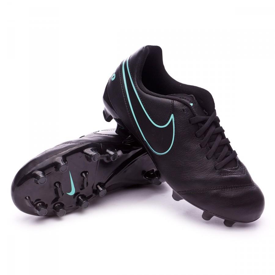 d8de3a6a0 Boot Nike Jr Tiempo Legend VI FG Black-Hyper turquoise ...