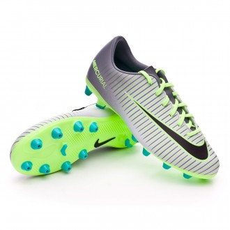 Bota  Nike jr Mercurial Vapor XI ACC AG Pure platinium-Black-Ghost green-Clear jade