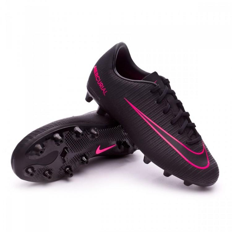 0bc15838e3c0b Football Boots Nike Jr Mercurial Vapor XI ACC AG Black-Pink blast ...