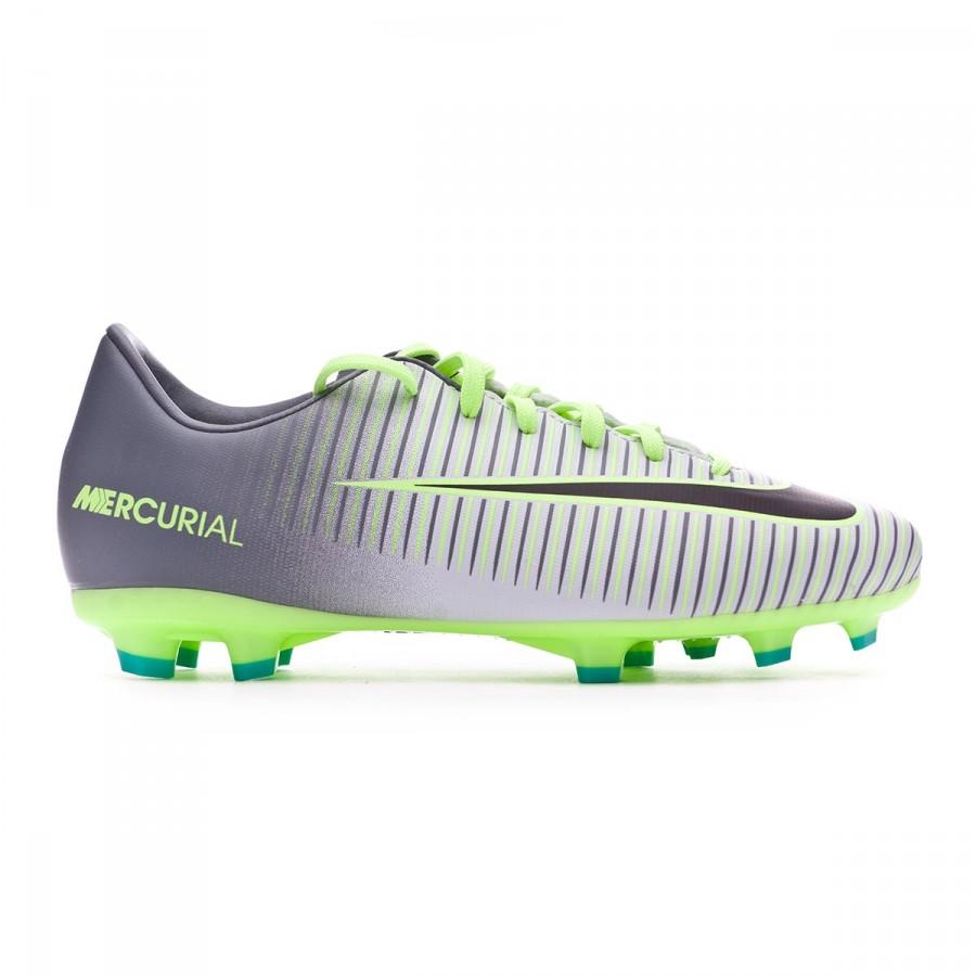 ff5e2f1bd Football Boots Nike Jr Mercurial Vapor XI ACC FG Pure platinium-Blask-Ghost  green-Clear jade - Football store Fútbol Emotion