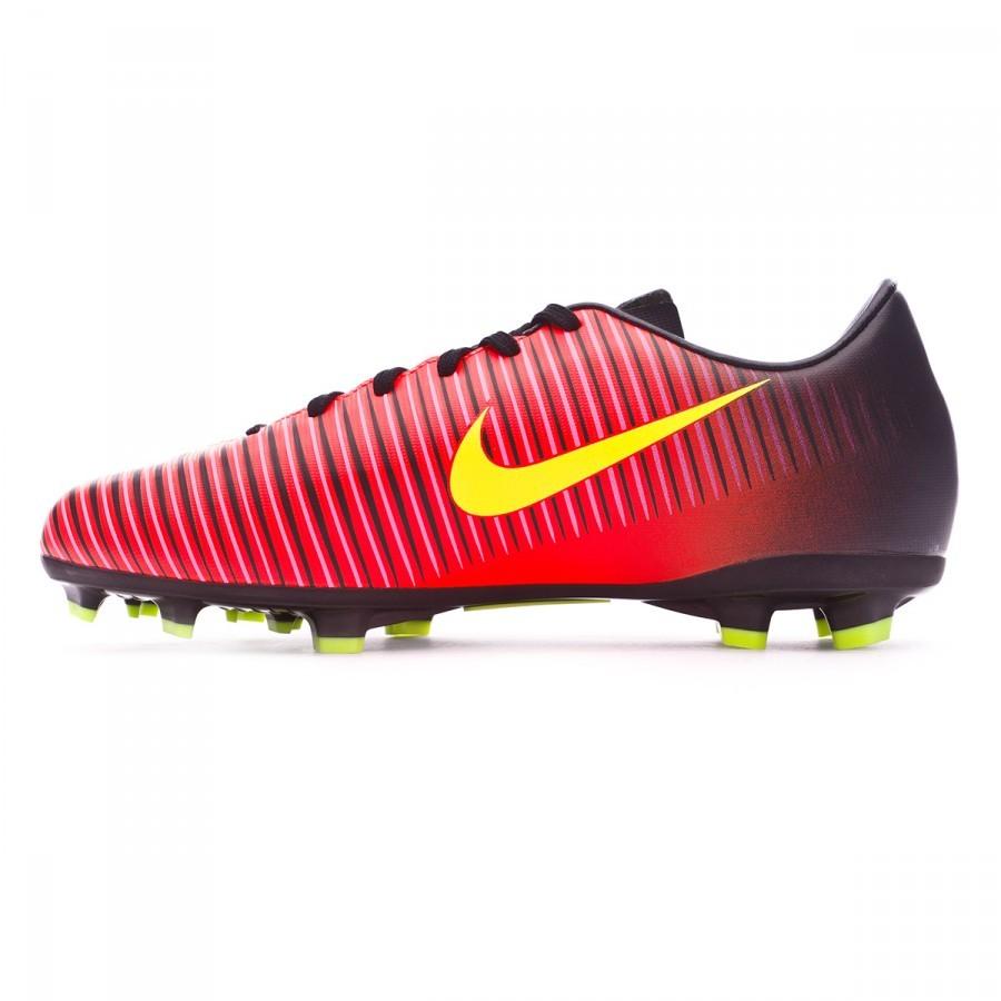5aaf174d1d8f Football Boots Nike Jr Mercurial Vapor XI ACC FG Total crimson-Volt-Black- Pink blast - Football store Fútbol Emotion