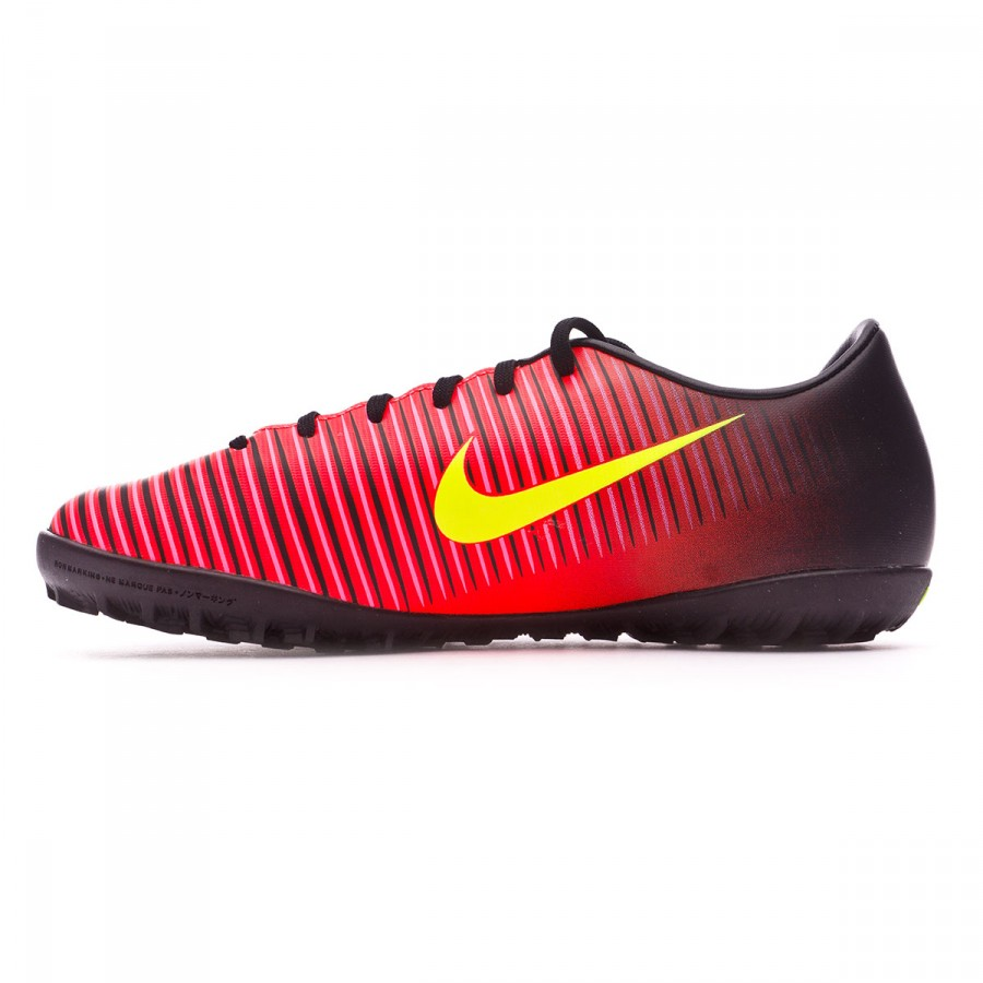 2eb1a6401e Football Boot Nike Jr MercurialX Vapor XI Turf Total crimson-Volt-Black-Pink  blast - Tienda de fútbol Fútbol Emotion