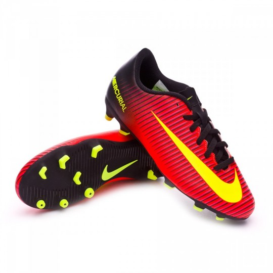 Bota  Nike jr Mercurial Vortex III FG Total crimson-Volt-Black-Pink blast