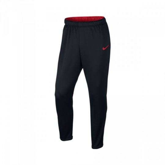 Pantalón largo  Nike Academy Tech Black-University red