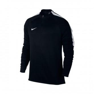 Camiseta  Nike Football Drill Top Black-White