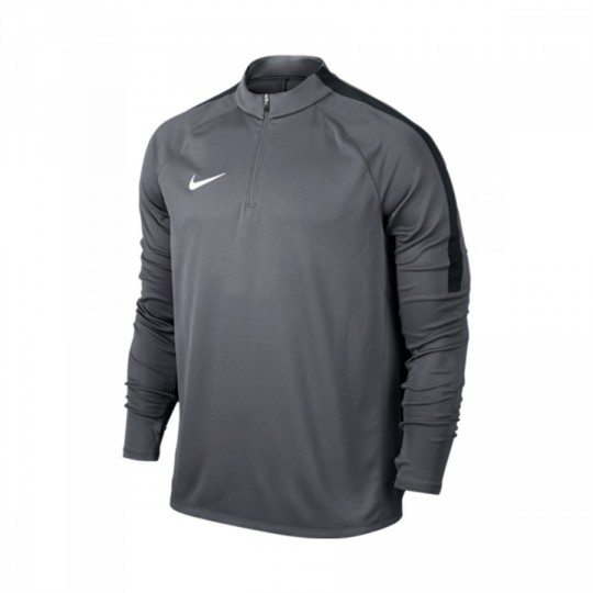 Camiseta  Nike Football Drill Top Dark grey-Black-White