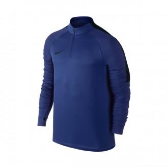 Sudadera  Nike Football Drill Top Deep Royal blue-Black
