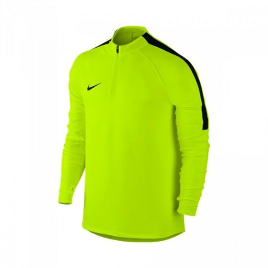 Sudadera  Nike Football Drill Top Volt-Black