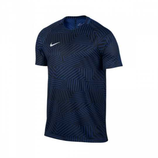 Maillot  Nike Dry Squad Football Deep royal blue-White