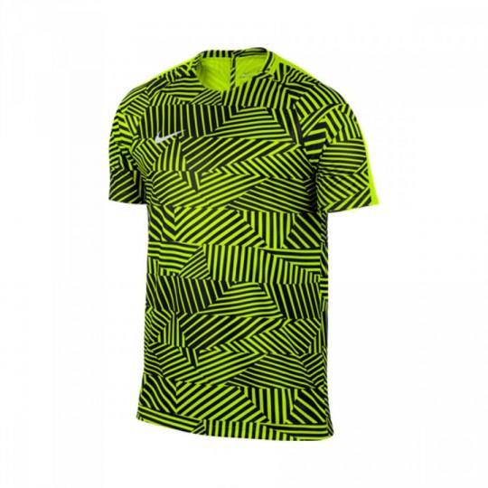 Maillot  Nike Dry Squad Football Volt-White