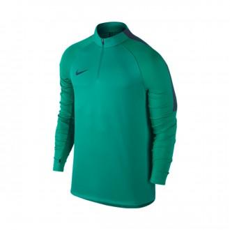 Camiseta  Nike Football Drill Top Rio teal-Obsidian