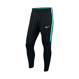 Calças  Nike Dry Football Pant Black-Hyper Jade