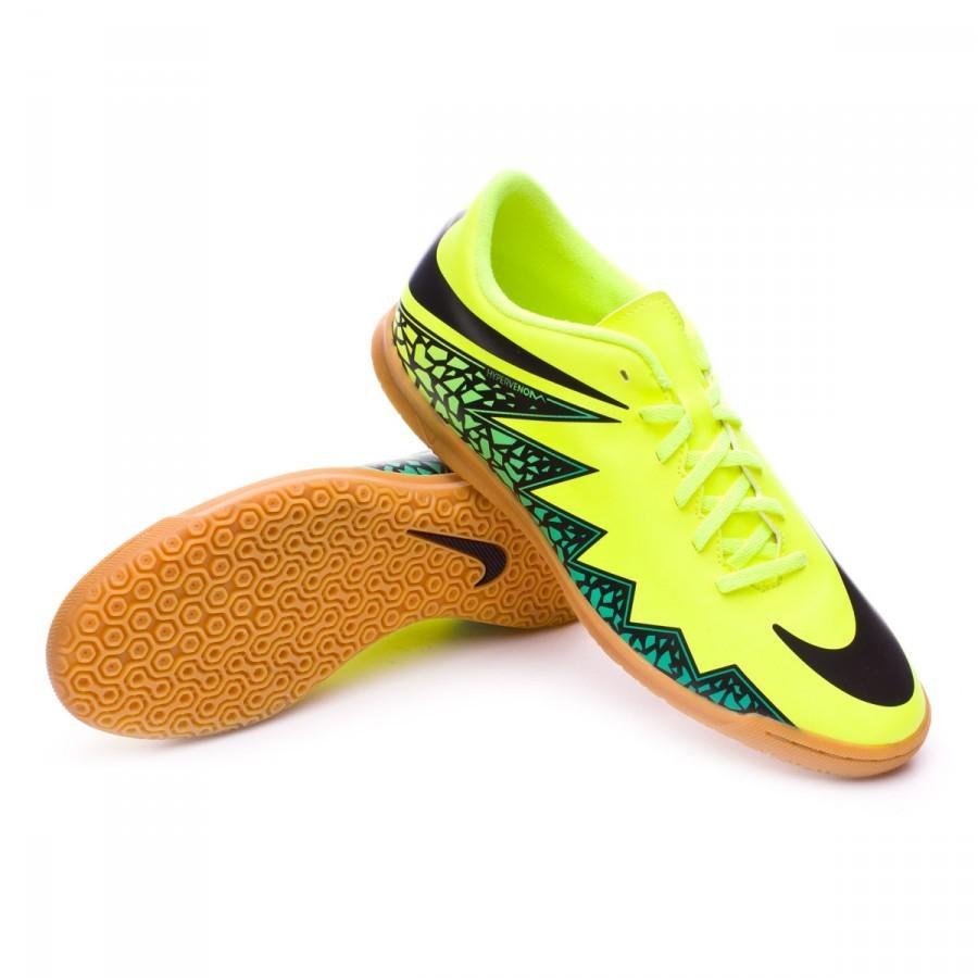 Zapatilla Nike HypervenomX Phade II IC Volt-Black-Hyper turquoise-Clear  jade - Soloporteros es ahora Fútbol Emotion 9988c1a4ef019