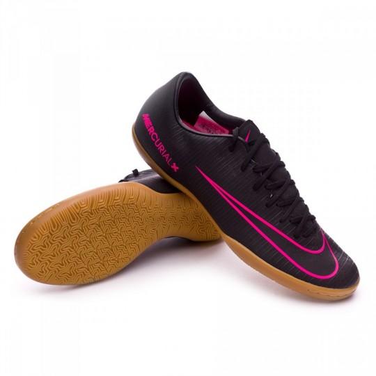 Sapatilha de Futsal  Nike Mercurial Victory VI IC Black-Pink blast