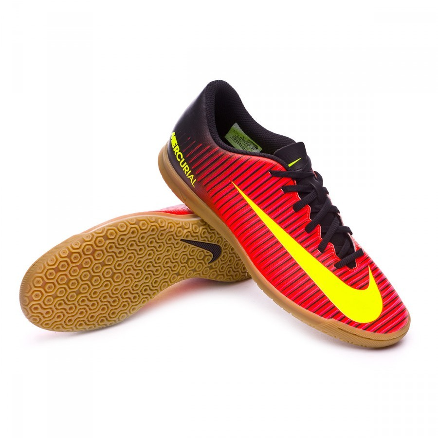 Futsal Boot Nike MercurialX Vortex III IC Total crimson-Volt-Black ... a534e7821d481