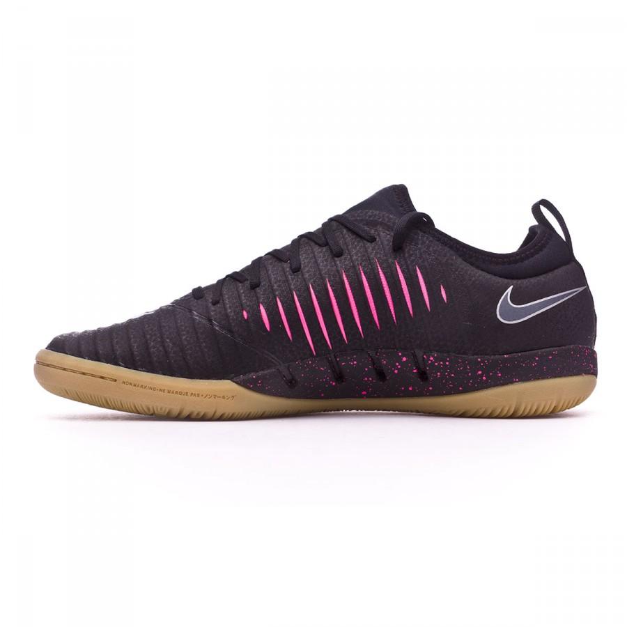 a3a8ce61e091 Futsal Boot Nike MercurialX Finale II IC Black-Pink blast-Light brown -  Football store Fútbol Emotion