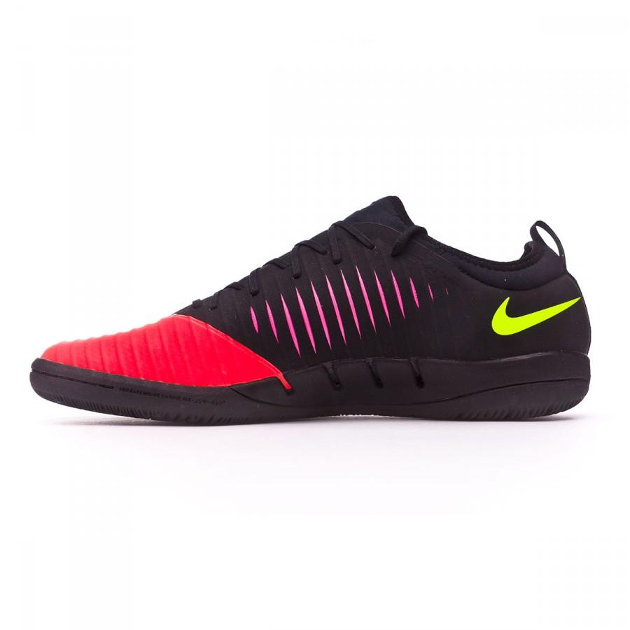 b250cf076774f Futsal Boot Nike MercurialX Finale II IC Total crimson-Volt-Pink blast-Black  - Football store Fútbol Emotion