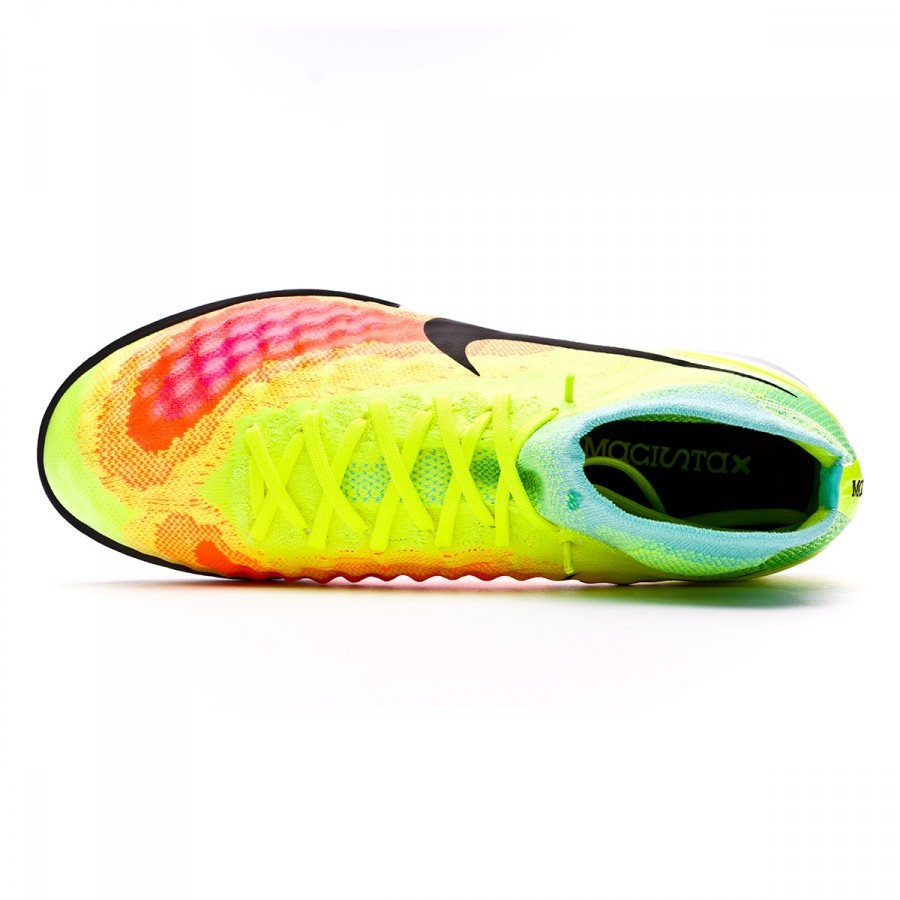... Zapatilla MagistaX Proximo II IC Volt-Black-Hyper turquoise-Total orange.  CATEGORY. Futsal · Futsal boots · Nike 91cd10780