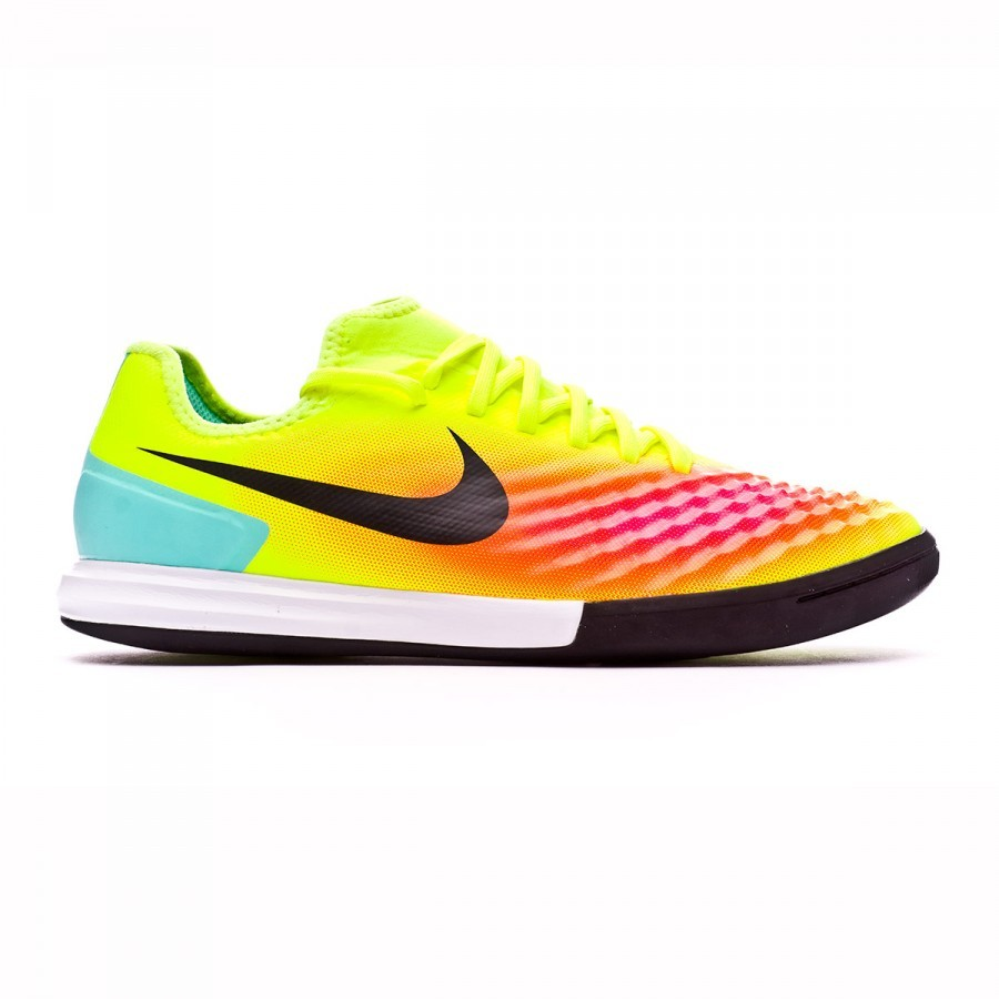 ce20f5ffa Futsal Boot Nike MagistaX Finale II IC Volt-Black-Total orange-Pink blast -  Football store Fútbol Emotion