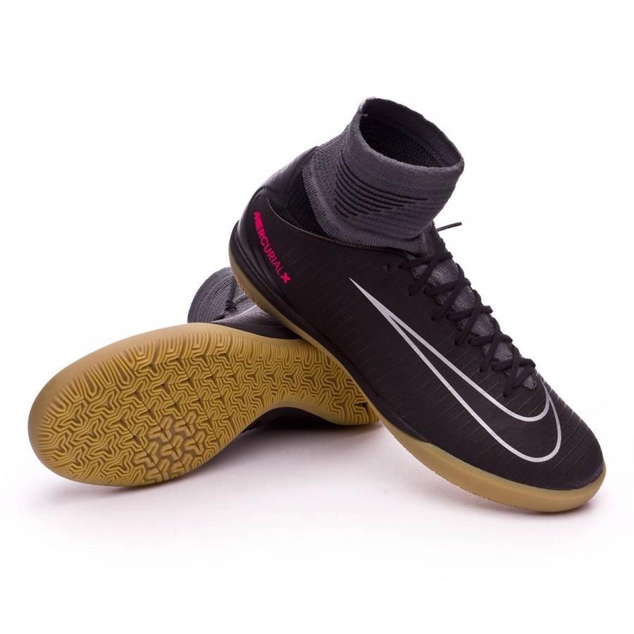 f6898cad3 Futsal Boot Nike Jr MercurialX Proximo II IC Black-Light brown ...