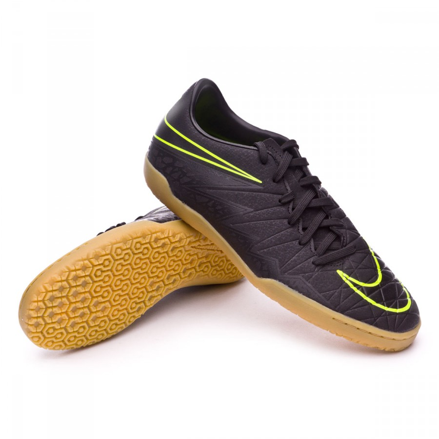cfc8085d8 Futsal Boot Nike HyperVenomX Phelon II IC Black-Volt - Football ...