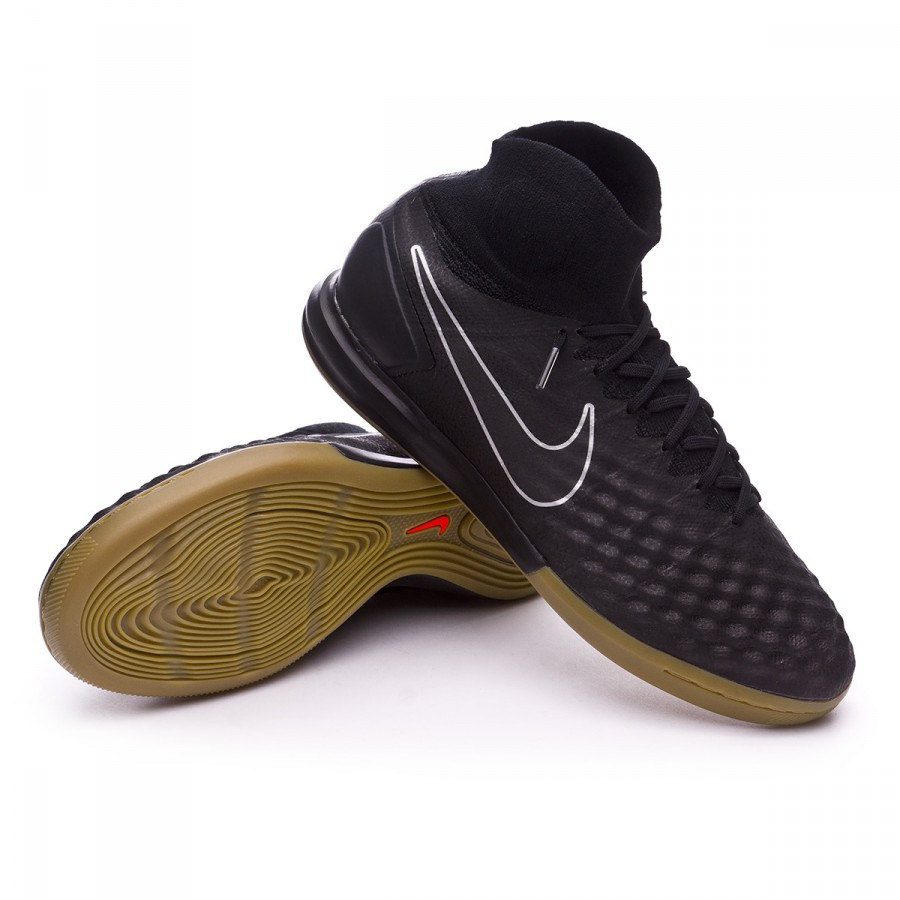 38f7f58ffd3 Futsal Boot Nike MagistaX Proximo II IC Black-Light brown - Football ...