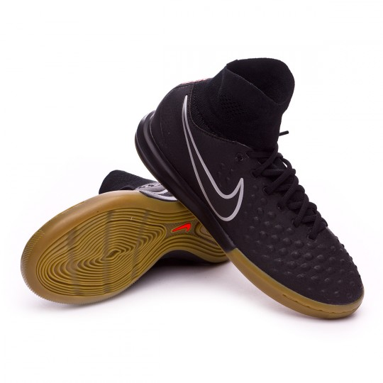 Sapatilha de Futsal  Nike jr MagistaX Proximo II IC Black-Light brown