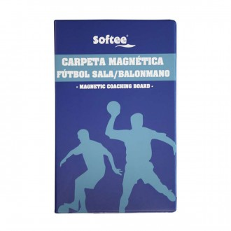 Pasta  Jim Sports Magnética Profesional Fútbol Sala Azul