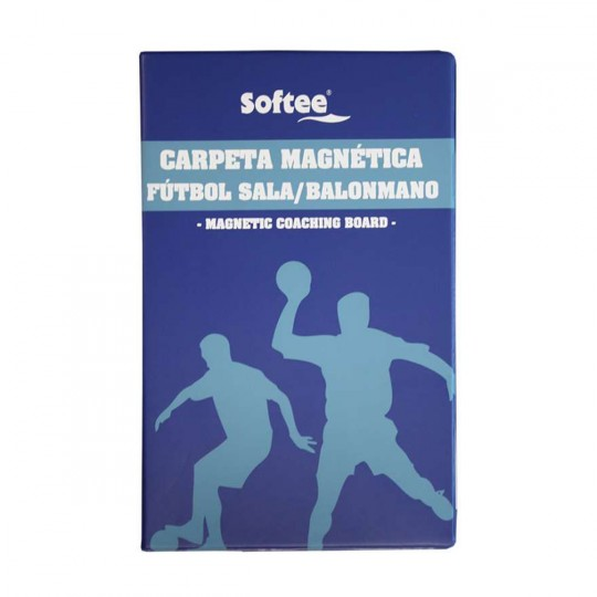 Carpeta  Jim Sports Magnética Profesional Fútbol Sala Azul