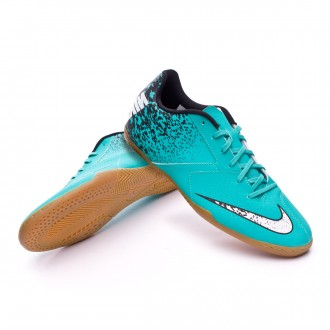 Sapatilha de Futsal  Nike BombaX IC Clear jade-White-Black