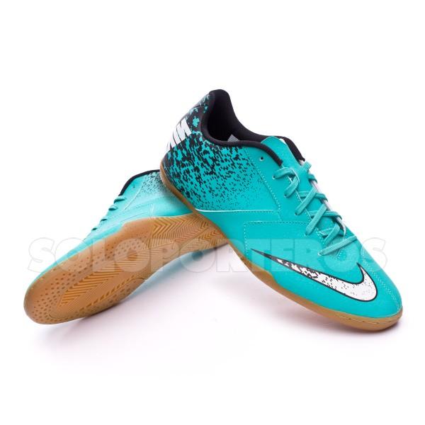 Zapatilla Nike BombaX IC Clear jade-White-Black - Tienda de Fútbol ...