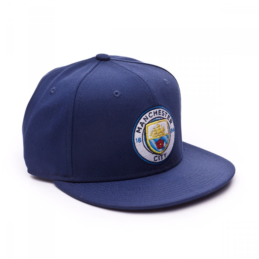 9067242e552 Nike Manchester City FC Seasonal True 2016-2017 Cap. Midnight navy-Field  blue ...